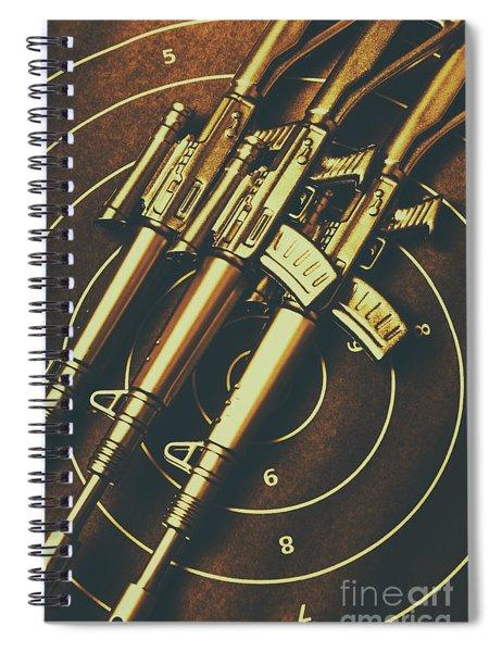 Long Range Tactical Rifles Spiral Notebook