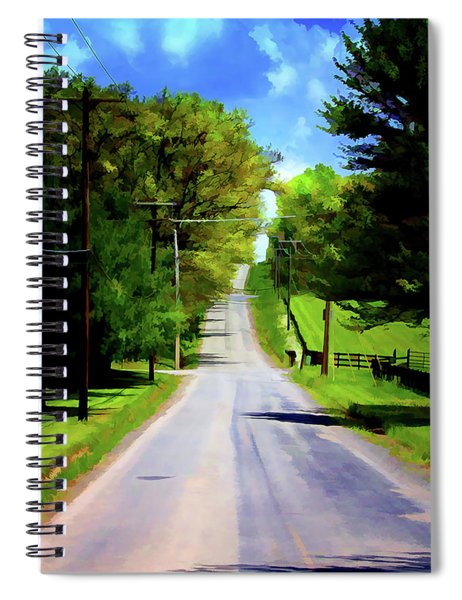 Long Road Ahead Spiral Notebook
