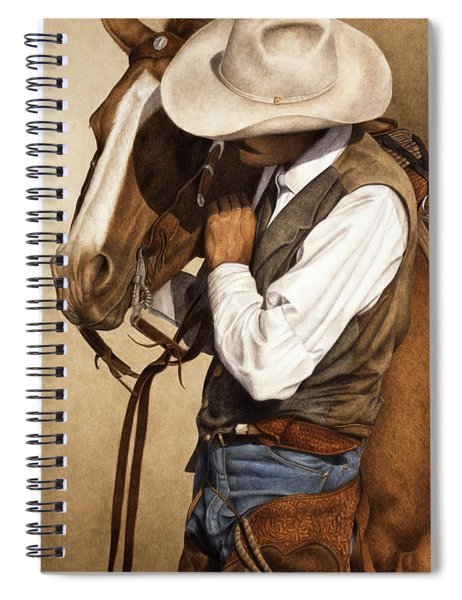 Long Time Partners Spiral Notebook by Pat Erickson