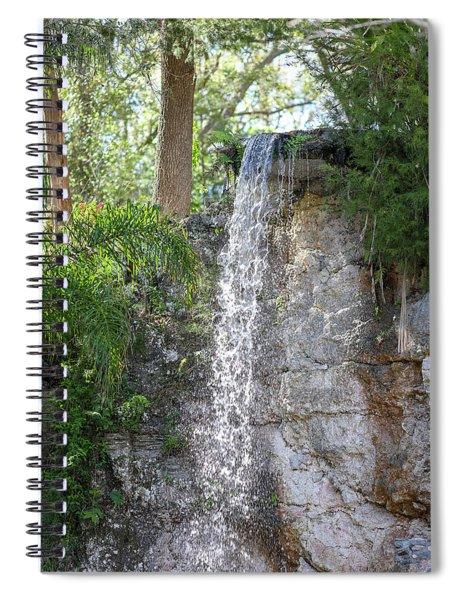 Long Waterfall Drop Spiral Notebook