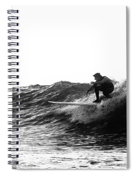 Longboard Spiral Notebook
