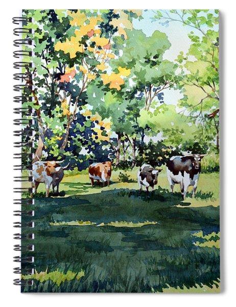 Longhorns Spiral Notebook