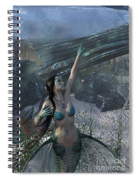 Longing For Land Spiral Notebook