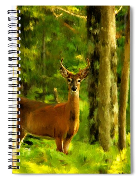 Look Deep Into Nature Spiral Notebook