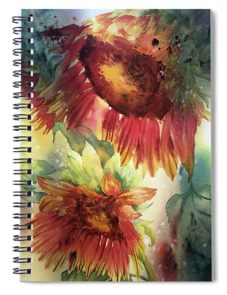 Look On The Sunny Side Spiral Notebook
