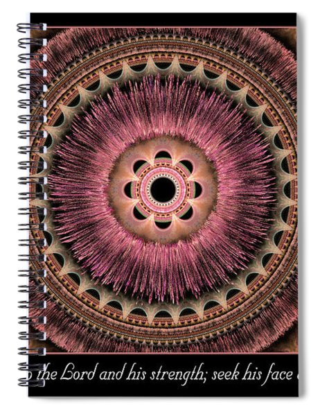 Look To The Lord Spiral Notebook