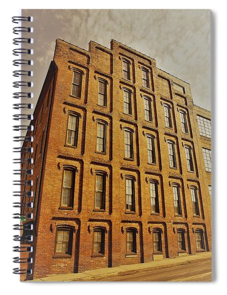 Look Up In The Sky Spiral Notebook