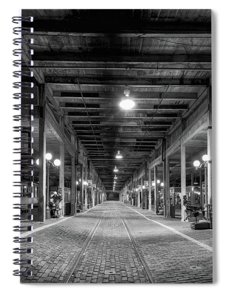 Looking Down The Tracks Spiral Notebook