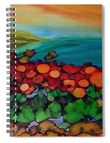 Looking East Spiral Notebook