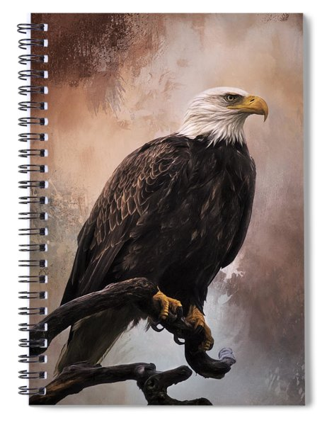 Looking Forward - Eagle Art Spiral Notebook