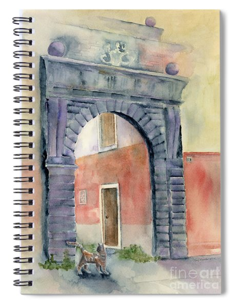 Looking In Spiral Notebook