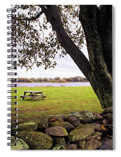 Looking Over The Wall Spiral Notebook