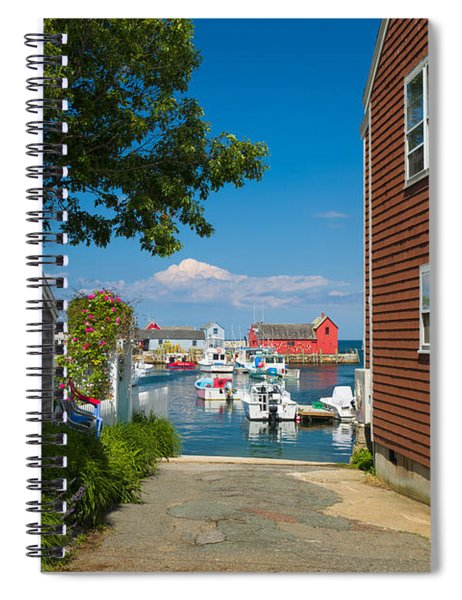 Looking Rockport Spiral Notebook