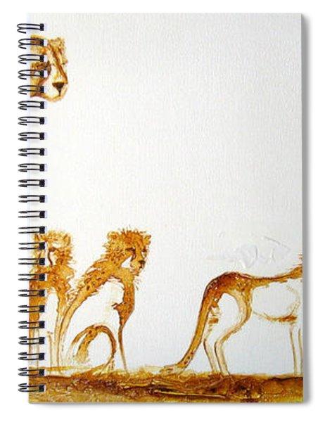 Lookout Post - Original Artwork Spiral Notebook