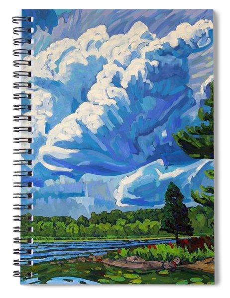 Looks Like Thunder Spiral Notebook