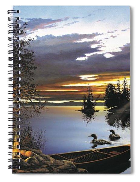 Loon Lake Spiral Notebook
