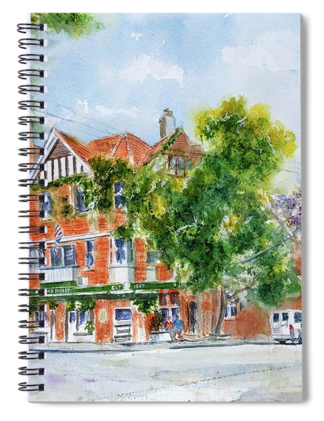Lord Dudley Hotel Spiral Notebook