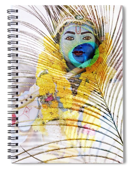 Lord Krishna Spiral Notebook
