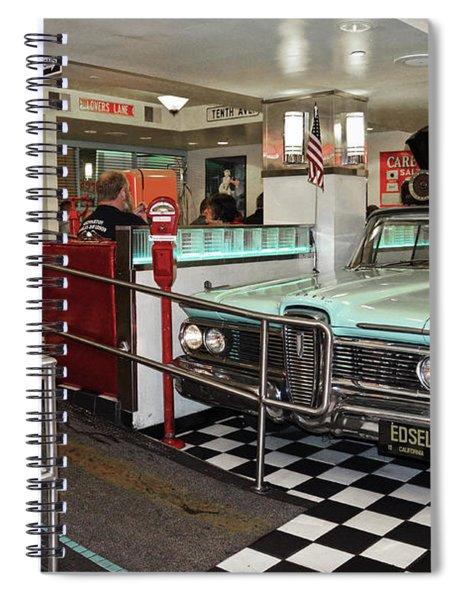 Loris Diner In San Francisco Spiral Notebook
