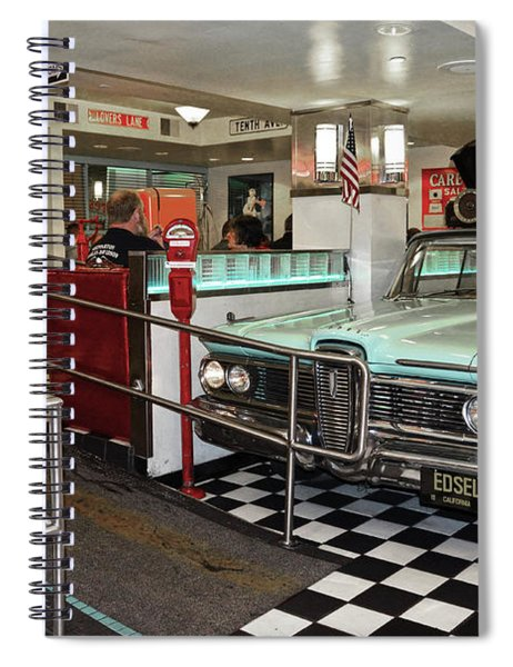 Loris Diner In San Francisco Spiral Notebook