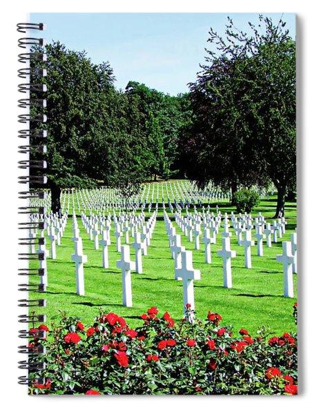 Lorraine American Cemetery - St Avold, France Spiral Notebook