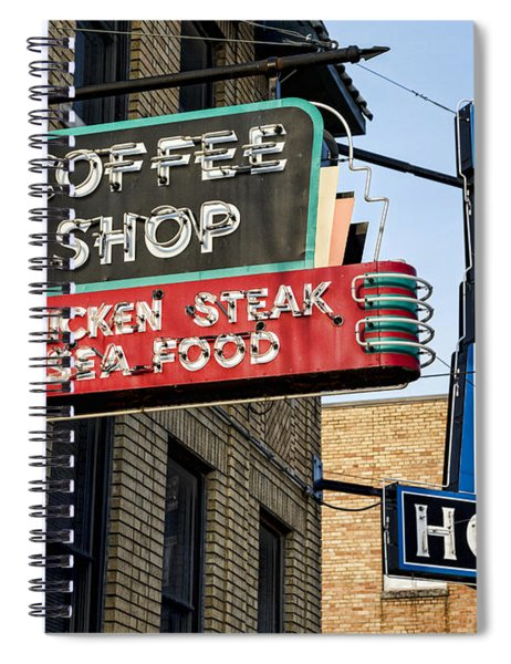 Lorraine Hotel Coffee Shop Spiral Notebook