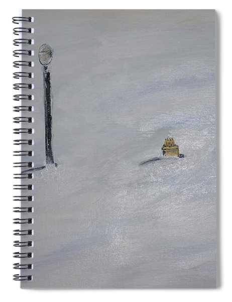 Lost Fire Hydrant Spiral Notebook
