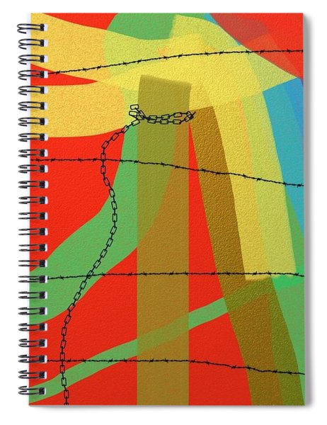 Lost Freedom Spiral Notebook