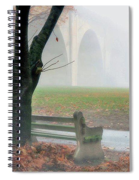 Lost In A Fog Spiral Notebook