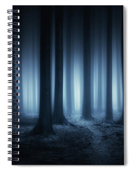 Lost In The Forest Spiral Notebook