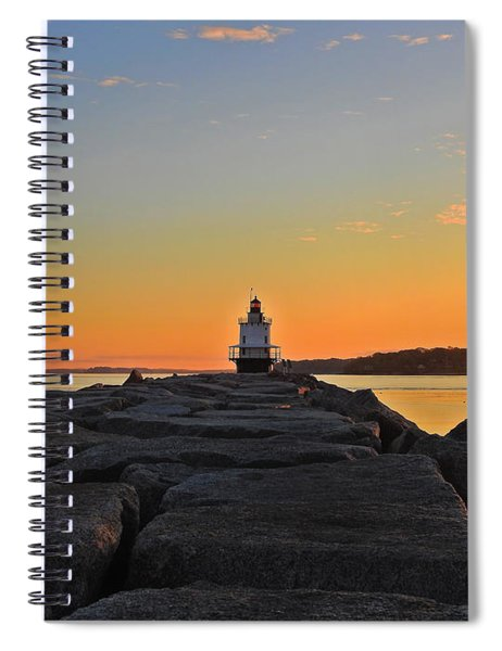 Lost In The Sunrise Spiral Notebook