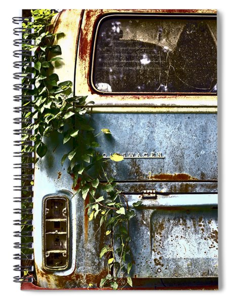 Lost In Time Spiral Notebook