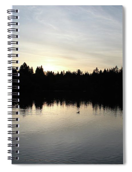 Lost Lagoon Spiral Notebook