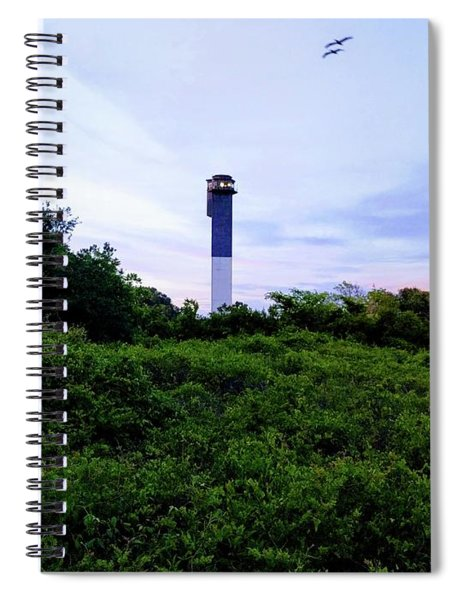 Lost Lighthouse Spiral Notebook