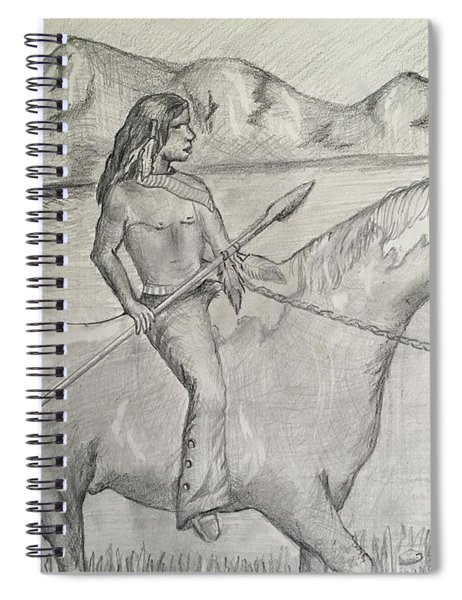 Lost Native American  Spiral Notebook
