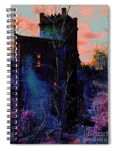 Lost Tower Of The Blue King Spiral Notebook