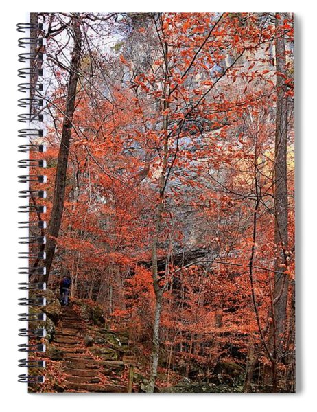 Lost Valley Trail - Ponca, Ar Spiral Notebook