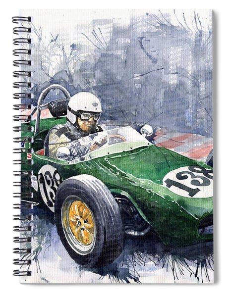 Lotus 18 F2 Spiral Notebook