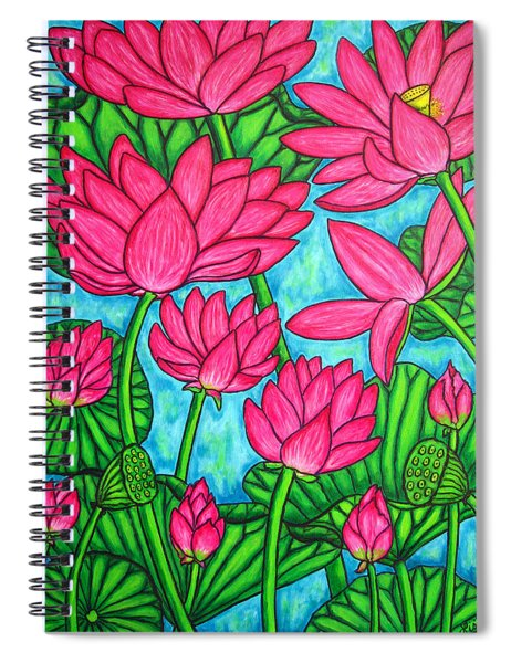 Lotus Bliss Spiral Notebook