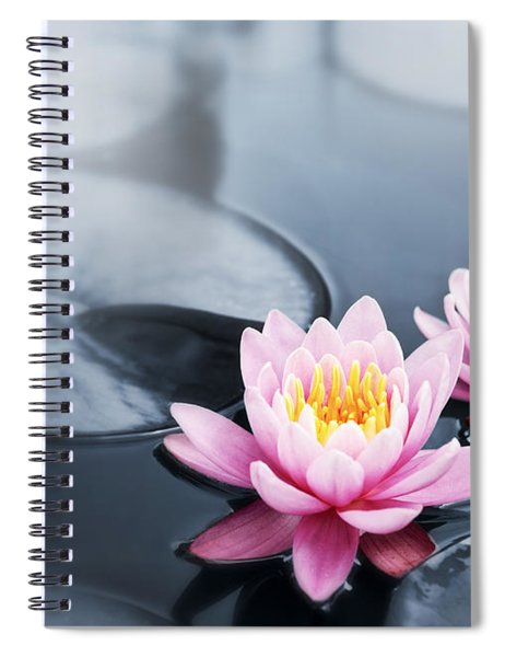 Lotus Blossoms Spiral Notebook