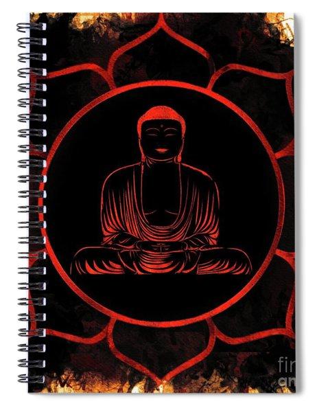 Lotus Buddha Spiral Notebook