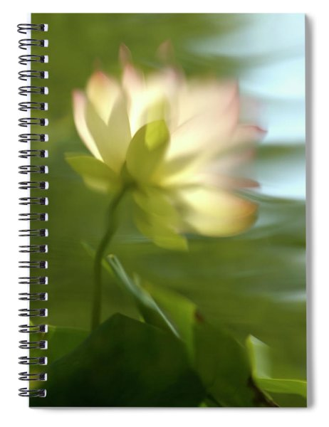 Lotus Reflection Spiral Notebook