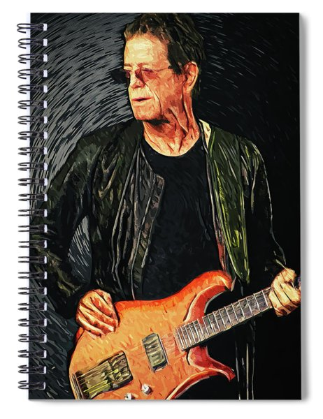 Lou Reed Spiral Notebook