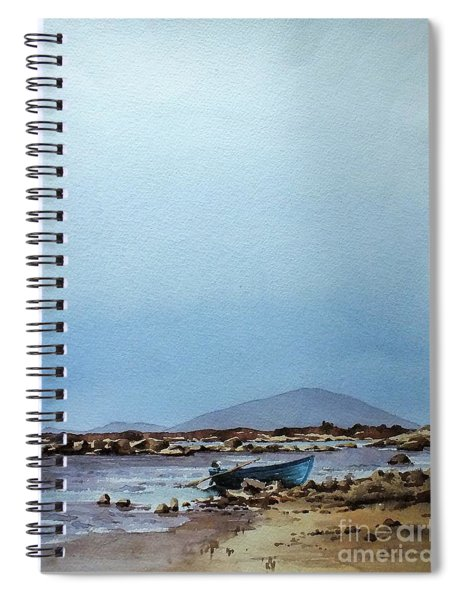 F  728  Lough Cullen And Neiphin, Mayo.. Spiral Notebook
