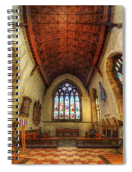 Loughborough Church - Altar Vertorama Spiral Notebook