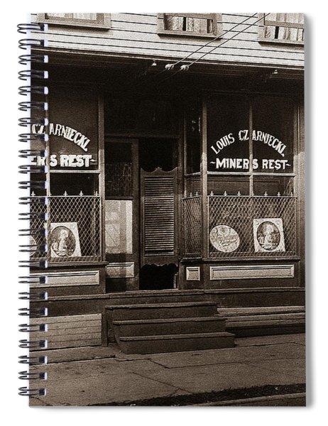 Louis Czarniecki Miners Rest 209 George Ave Parsons Pennsylvania Spiral Notebook