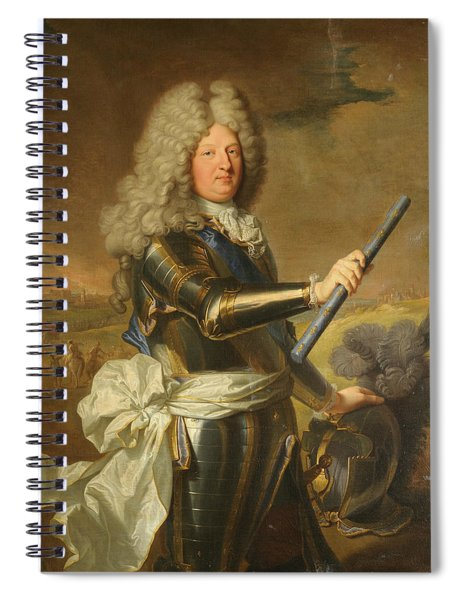 Louis De France, Dauphin, Known As The Grand Dauphin Spiral Notebook