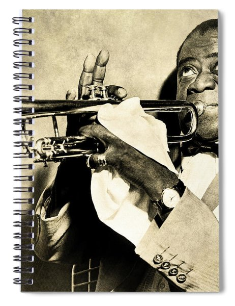 Louis Satchmo Armstrong Spiral Notebook