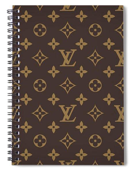 Louis Vuitton Texture Spiral Notebook