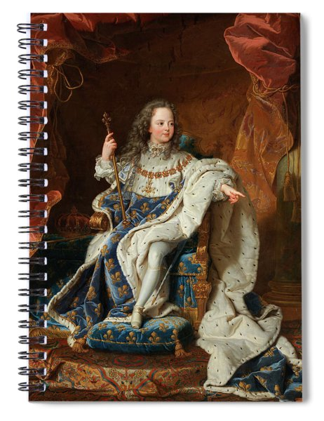 Louis Xv At The Age Of Five In The Costume Of The Sacre Spiral Notebook